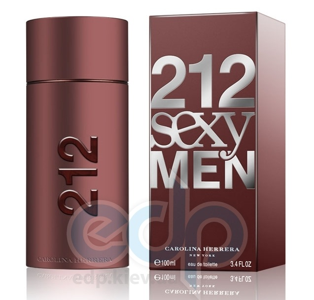 Carolina Herrera 212 Sexy Men - туалетная вода - 100 ml