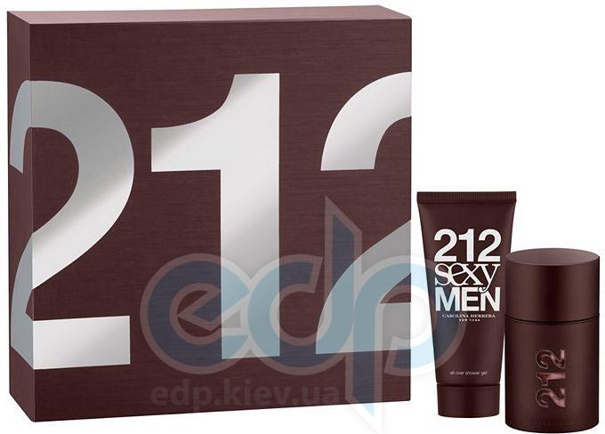 Carolina Herrera 212 Sexy Men -  Набор (туалетная вода 50 + гель для душа 100)