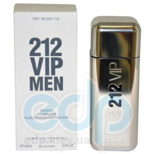 Carolina Herrera 212 VIP Men - туалетная вода - 100 ml TESTER