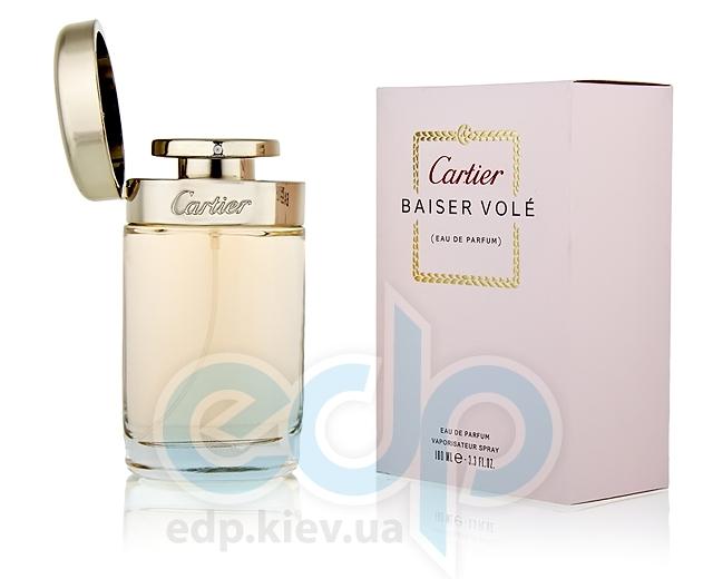 Cartier Baiser Vole - Набор (парфюмированная вода 50 + лосьон-молочко для тела 50 + гель для душа 50)