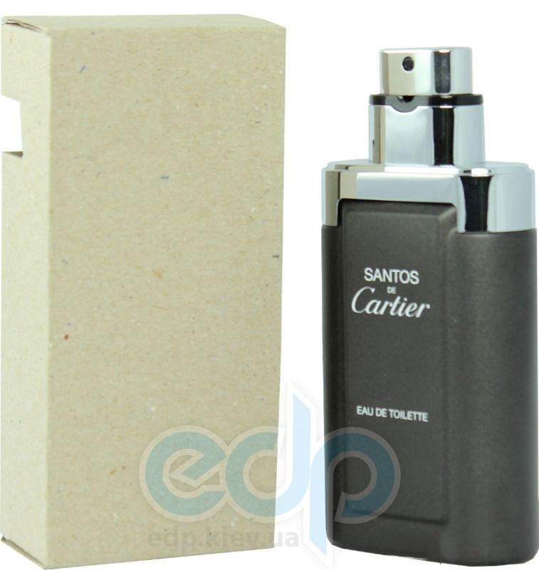 Cartier Santos For Men - туалетная вода - 100 ml TESTER