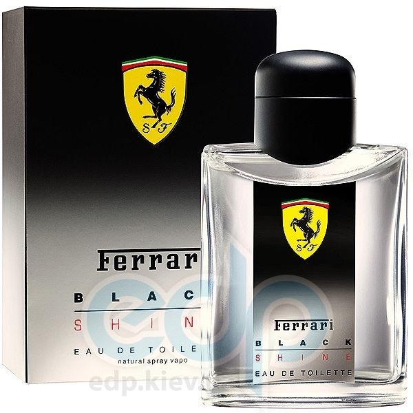 Ferrari Black Shine Man - туалетная вода - 125 ml