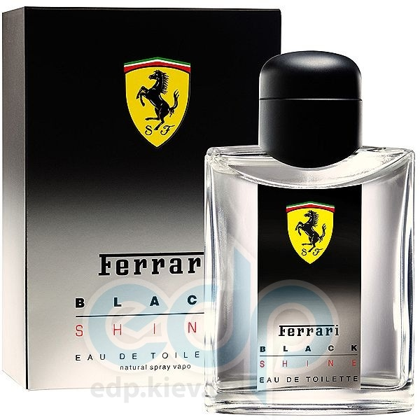 Ferrari Black Shine Man