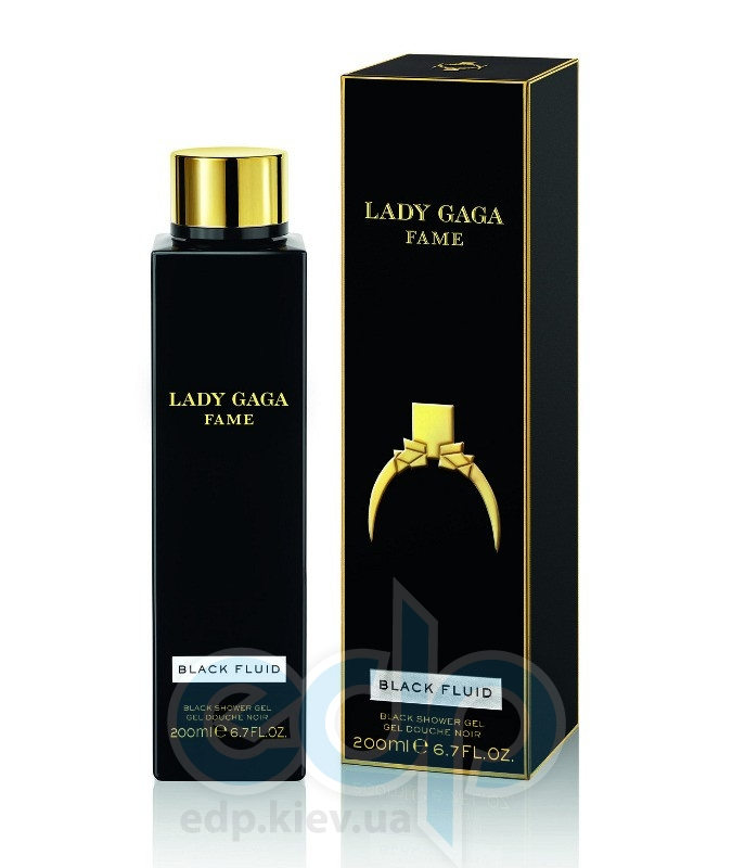 Lady Gaga Fame Black Fluid - гель для душа - 200 ml
