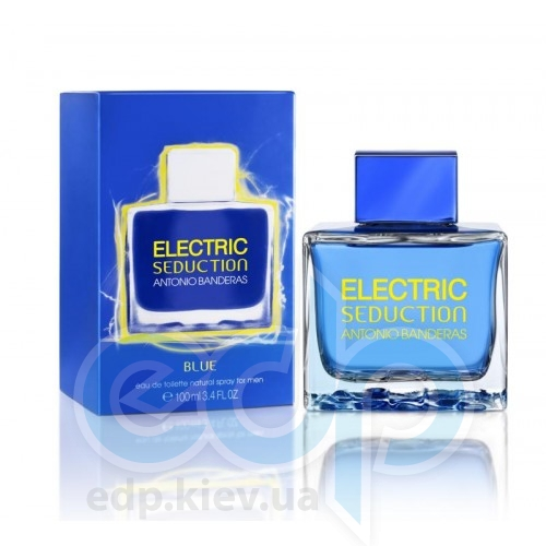Antonio Banderas Electric Blue Seduction Men - туалетная вода - 100 ml