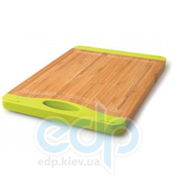 Berghoff - Доска для нарезки -  35х23см  (бамбук. ручки - силикон) (арт. 1101644)