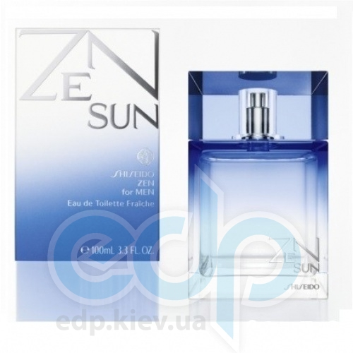 Shiseido Zen Sun Fraiche For Him - туалетная вода - 100 ml TESTER
