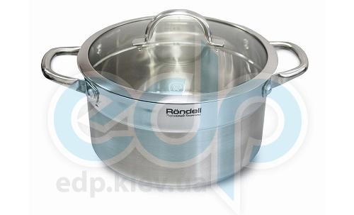 Rondell - Кастрюля Creative с крышкой - диаметр 20 см. объем 3.1 л (арт. RDS-387)