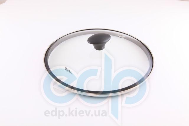 Fissman - крышки стекло + силиконовый ободок - диаметр 20 см (арт. GL-9.931.20)