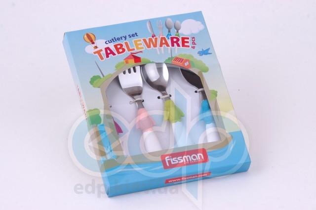 Fissman - Набор столовый детский - 4 предмета (арт. CY-3006.4)