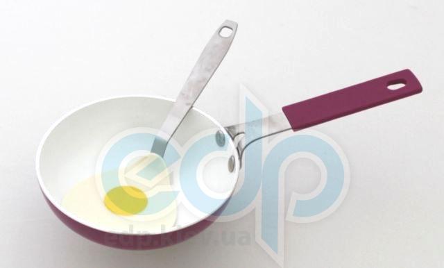 Fissman - Сковорода  SIMPATICO с лопаткой - диаметр 14 см (арт. AL-4658.14)