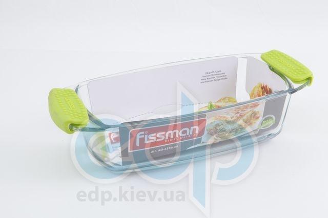 Fissman - Формадлявыпечки с силиконовыми ручками - размер 30.9х14х7 см - объем 1.5 л (арт. AG-6136.26)