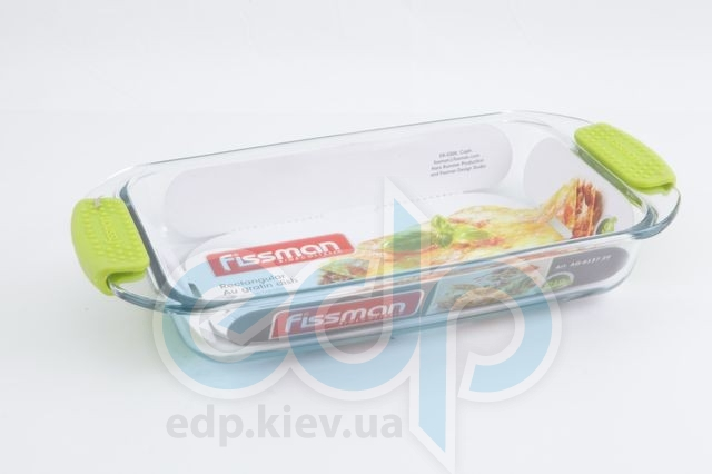Fissman - Формадлявыпечки с силиконовыми ручками - размер 33.5х17.9х5 см - объем 1.6 л (арт. AG-6137.29)