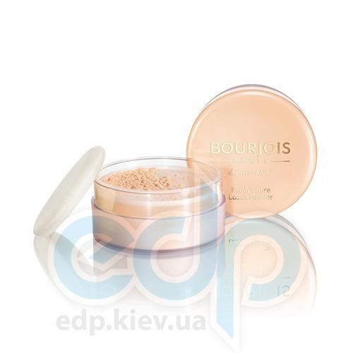 Пудра для лица рассыпчатая минеральная Bourjois - Poudre Libre №03 Золотисто-бежевый - 30 g