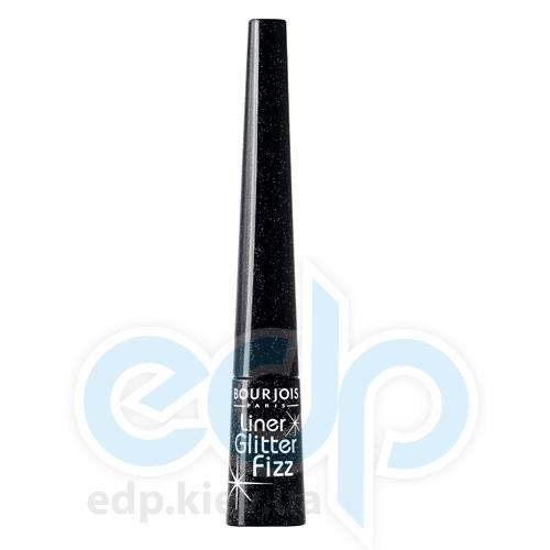 Подводка для глаз с мерцающими частичками Bourjois - Liner Glitter Fizz №31 Черная - 2.5 ml