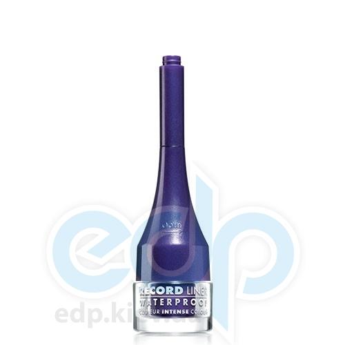 Подводка для глаз водостойкая жидкая Bourjois - Record Liner Waterproof №013 Фиолетовый