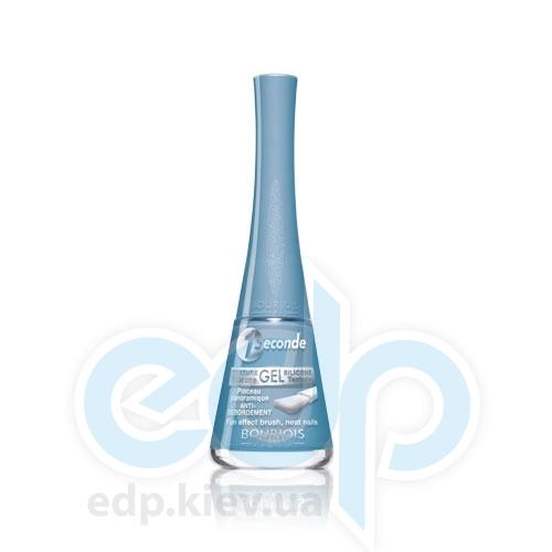 Лак для ногтей стойкий, с эффектом мгновенного высыхания Bourjois - 1 Seconde №08 Голубой матовый - 9 ml