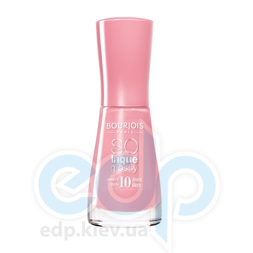 Лак для ногтей стойкий, с эффектом бриллиантового блеска Bourjois - So laque glossy №08 - 10 ml
