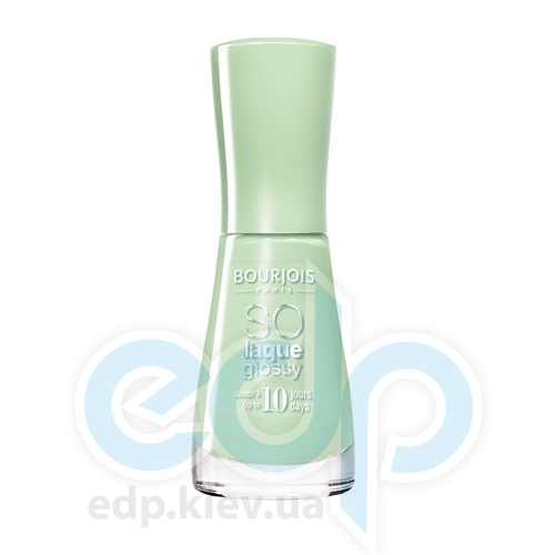 Лак для ногтей стойкий, с эффектом бриллиантового блеска Bourjois - So laque glossy №04 - 10 ml