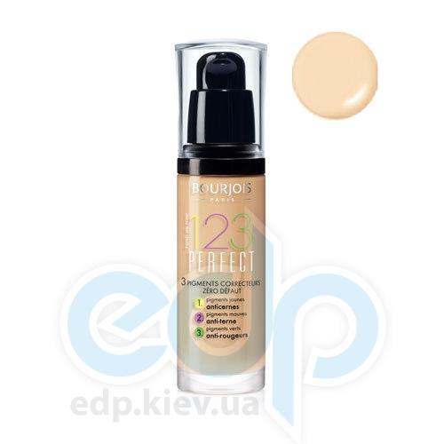 Тональный крем для лица матирующий Bourjois - 1,2,3 Perfect №51 SPF 10 Светло-ванильный - 30 ml