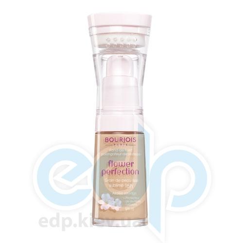 Тональный крем для лица выравнивающий Bourjois - Flower Perfection №56 SPF15 Светлый бронзовый - 30 ml