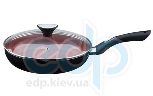 Granchio - Сковорода с крышкой Terracotta - диаметр 24 см (арт. 88124)