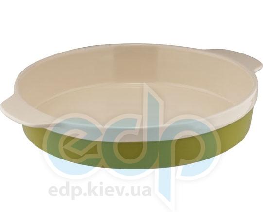 Granchio - Форма для выпечки круглая Green Ceramica - 33 x 27 см (арт. 88514)