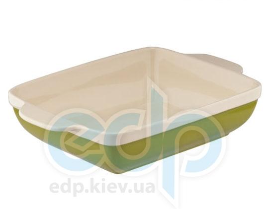 Granchio - Квадратная форма для запекания Natura Oliva Green Ceramica (арт. 88513)