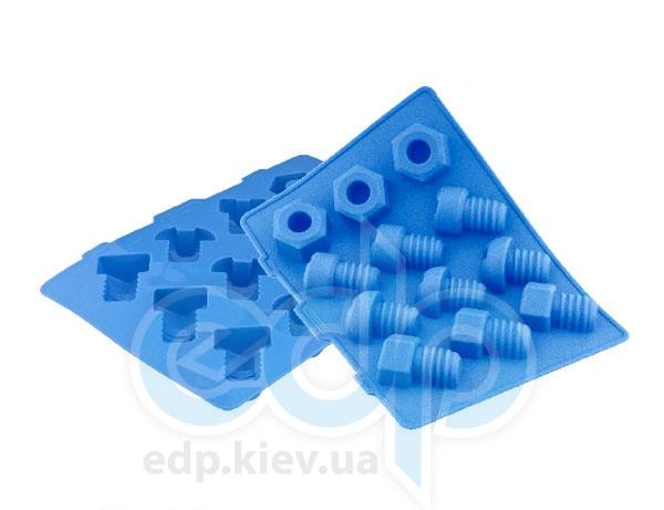 Granchio - Форма силиконовая для льда Винтик SilicoFlex (арт. 88437)