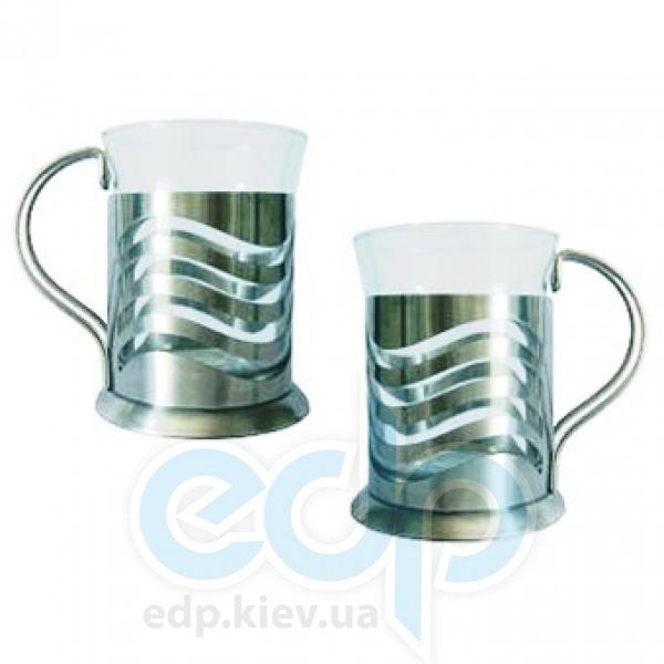 Maestro - Набор из 2-х чашек (стекло) - объем 250 мл  (арт. МР1662-200)