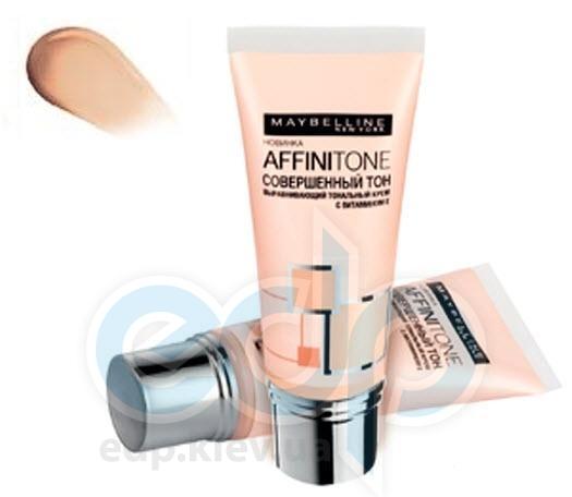 Тональный крем для лица выравнивающий Maybelline - Affinitone №18 Натурально-розовый - 30 ml