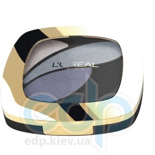 Тени для век 4-цветные компактные L'Oreal - Color Riche Quad Eye Shadow №E5 - 4.5 g