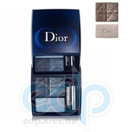 Тени для век 3-цветные компактные Christian Dior - 3 Couleurs Smoky  №781 - 5.5g