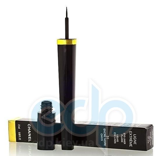 Подводка для глаз жидкая стойкая Chanel - Ligne Graphique №01 черный - 2.5ml