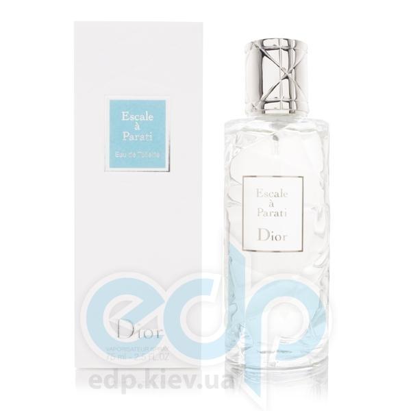 Christian Dior Dior Escale a Parati - туалетная вода - 75 ml TESTER