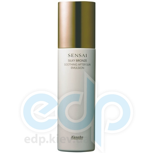 Kanebo Эмульсия после загара для лица и тела - Silky Bronze Soothing After Sun Emulsion - 150 ml TESTER