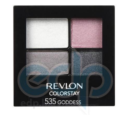 Тени для век cтойкие 16-часовые Revlon - Colorstay №535 Королевский