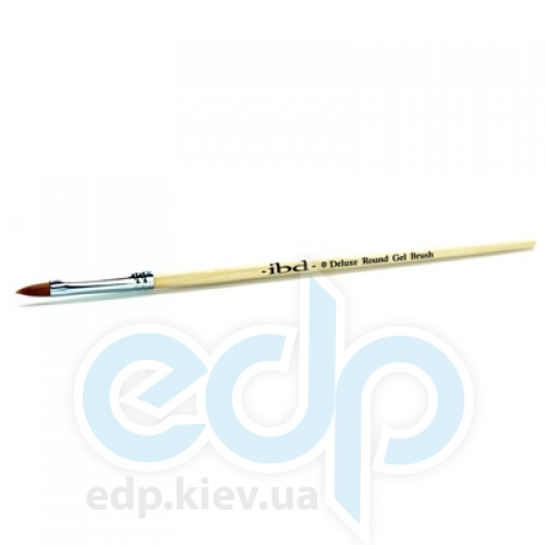 ibd - Заостренная синтетическая кисть для геля Deluxe Round Gel Brush