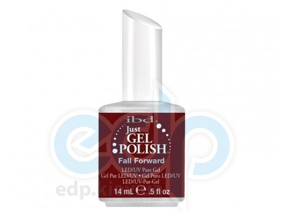 ibd - Just Gel Polish - Fall Forward Темное бордо, глянец. №555 - 14 ml
