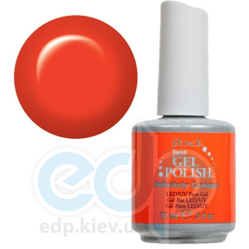ibd - Just Gel Polish - Infinitely Curious Ярко-оранжевый, глянец. №536 - 14 ml