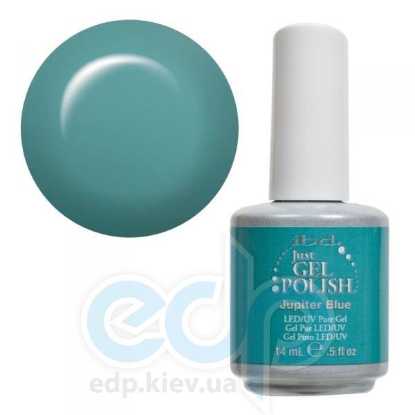 ibd - Just Gel Polish - Jupiter Blue Бирюзовый приглушенный. №522 - 14 ml