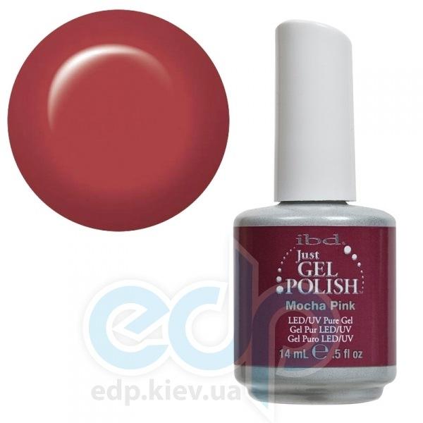 ibd - Just Gel Polish - Mocha Pink Светлый розово-кофейный, глянец. №504 - 14 ml