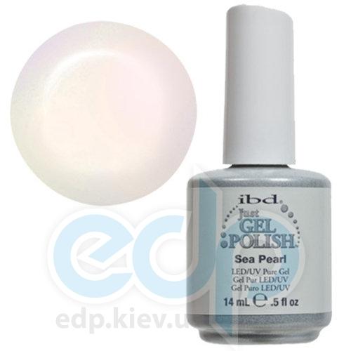 ibd - Just Gel Polish - Sea Pearl Полупрозрачный белый с легким неоновым отливом и микроблеском. №511 - 14 ml