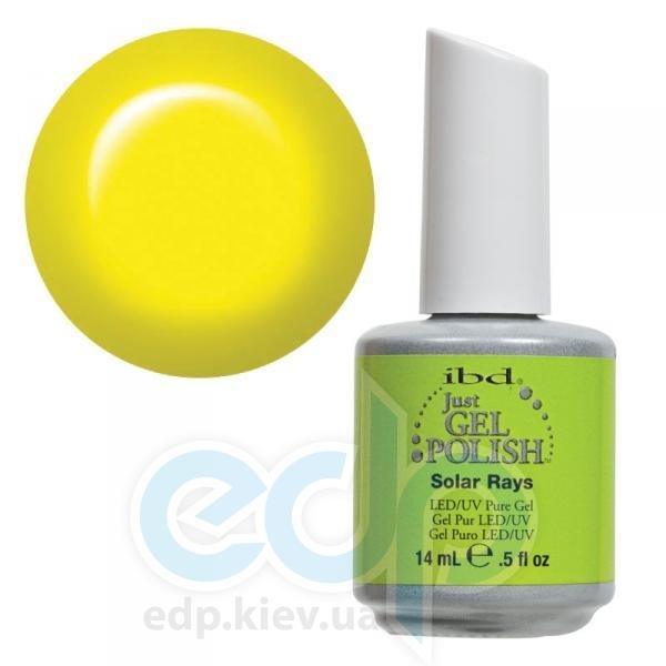 ibd - Just Gel Polish - Solar Rays Яркий, желто-салатовый, глянец. №533 - 14 ml