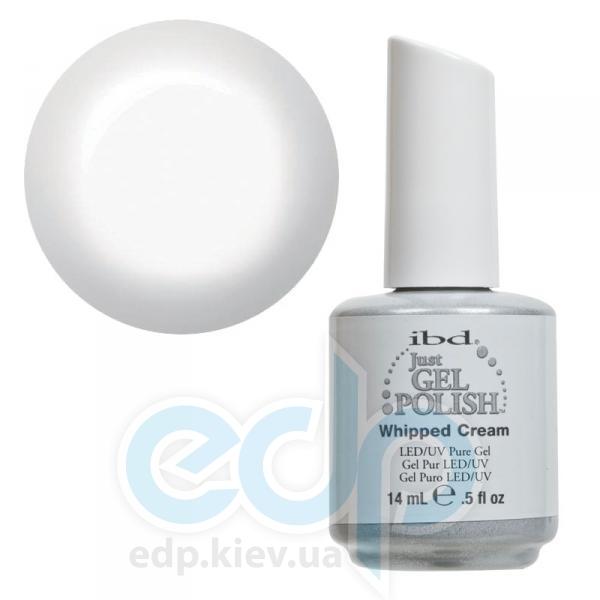 ibd - Just Gel Polish - Whipped Cream Классический плотный белый, глянец. №510 - 14 ml