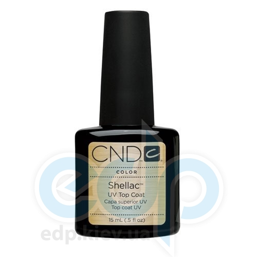 CND Shellac - Top Coat Верхнее покрытие - 15 ml