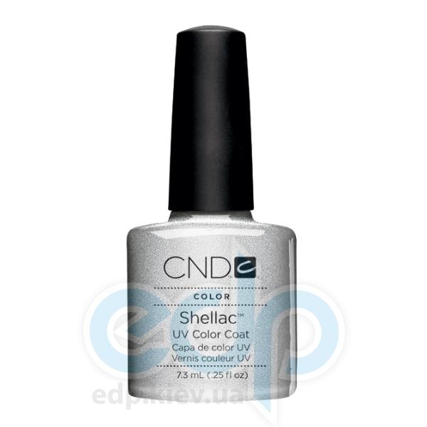 CND Shellac - Silver Сhrome металик с микроблеском, плотный №532 - 7.3 ml