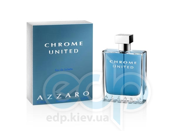 Azzaro Chrome United - туалетная вода - 100 ml TESTER