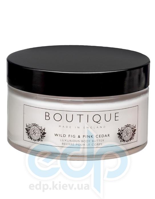 Grace Cole - Крем для тела питательный для сухой кожи Boutique Body Butter Wild Fig & Pink Cedar - 200 ml