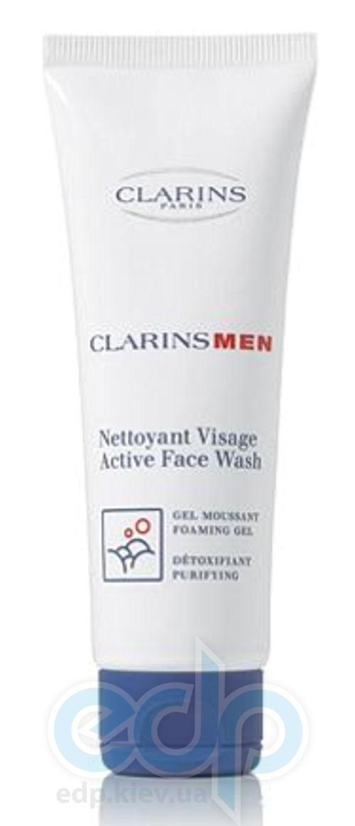 Clarins - Men Active Face Wash гель для умывания - 125 ml